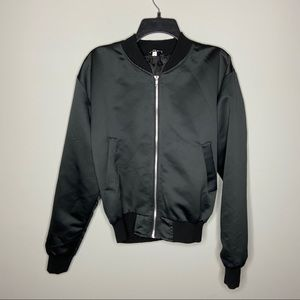 Urban Outfitters Jackets & Coats - Urban Outfitters Size Large Black Tiger Bomber